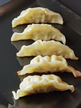 E04. GYOZA (raviolis grillés)